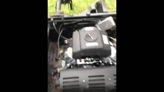 7. 2011 Kawasaki mule 4010 4 x 4 with harbor freight predator 617 22 hp