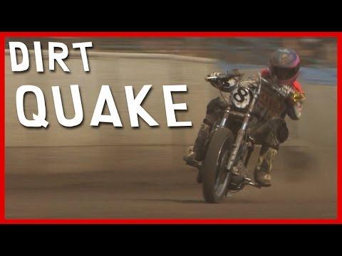 DIRT QUAKE : Serge Nuques, Guy Martin, des motos et de la boue !! (English subtitles)