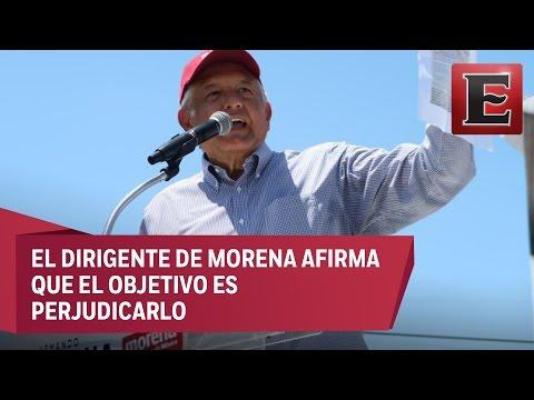 López Obrador asegura que Eva Cadena cayó en una trampa