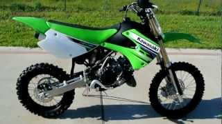 8. 2012 Kawasaki KX85 KX 85 Overview Review Walk Around