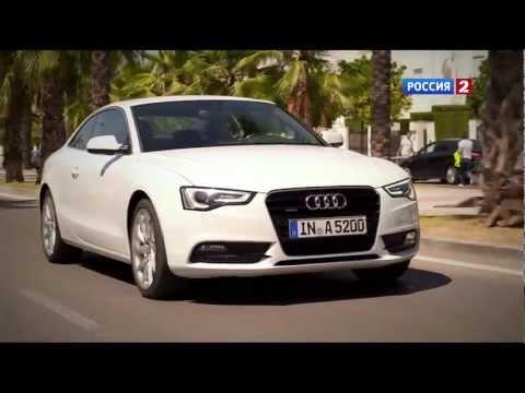 Audi S5 Тест-драйв Audi A5/S5 FL 2012 // АвтоВести 27
