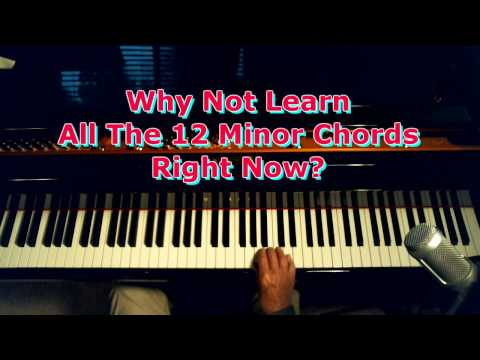 Learn All The Minor Piano Chords Right Now!