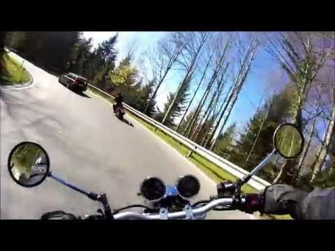 Sulzberg-Scheidegg - Suzuki Bandit 600 N - Motorradtour