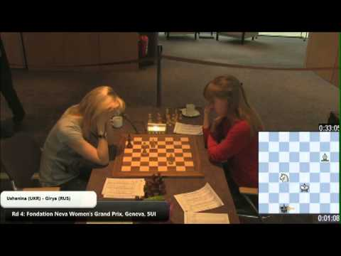 Women's World Chess Champion Fails Bishop+Knight Checkmate
