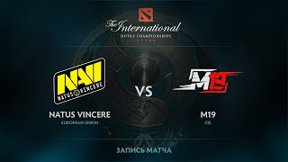 Natus Vincere vs M19, The International 2017 CIS Qualifier