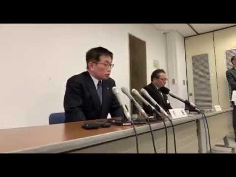 【中継】暴言問題の明石市長が記者会見