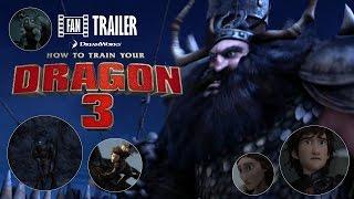 How To Train Your Dragon 3 Trailer - (Fan Trailer #1)