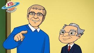 Nonton Warren Buffett S Secret Millionaires Club   The Gift   Bill Gates Ep 1    Kid Genius Cartoons Film Subtitle Indonesia Streaming Movie Download