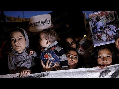 Πορεία μεταναστών και προσφύγων στο κέντρο της Αθήνας
