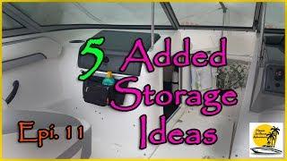 8. 5 Storage Ideas Yamaha Jet Boat SX190 Epi. 11