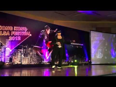 Aceki World Salsa Championship 2012 Edie Torres Performance (видео)