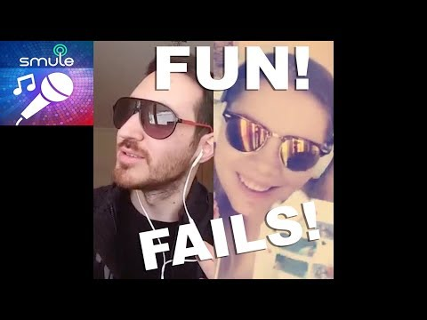 Fails And Fun On Smule