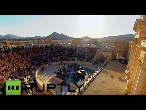 Concert dedicated to those who lost their lives in Syrian war goes ahead in Palmyra, May 6th, 2016