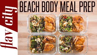 I've got some meal prep for weight loss that will get you ready for beach season. This is one of the best chicken breasts recipes you can make for juicy, tender, and flavor chicken breasts. Sometimes it's hard to find recipe for chicken that os really tasty, but this meal prep is not only a perfect weight loss recipe, but it's so tasty. I hope you guys try out this low fat recipe for chicken breasts because I know you will love it and it's a great recipe for losing weight for beach season.RECIPE: https://goo.gl/jINVigSUBSCRIBE: http://goo.gl/pWpsoqMacros:550 calories per meal17.3 grams of fat per meal34 grams of carbs per meal57.2 grams of protein per meal6 grams of fiber per mealGET THE KITCHEN GEAR I USE:spice canisters: http://amzn.to/2skAvgfglass meal prep containers: http://amzn.to/2neLNQYget my t-shirt: http://bit.ly/2s0gUV6microplane zester: http://amzn.to/2guLd1Solive oil dispenser: http://amzn.to/2iTIfULcast iron pan: http://amzn.to/2h3bQu7staub cast iron pan: http://amzn.to/2qcKIcqNew Videos Every Friday!Follow Me On Social Media:Facebook: https://www.facebook.com/flavcityInstagram: https://www.instagram.com/flavcitySnapchat: flavcityTwitter: https://www.twitter.com/flavcityI'm out to prove that home cooks can be rock stars in the kitchen. I look forward to sharing my recipes & cooking style with you on my channel!Music from Audio Network