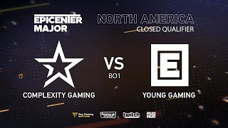 CoL vs Young Drug Gaming, EPICENTER Major 2019 NA Closed Quals , bo1 [Maelstorm & Lost]