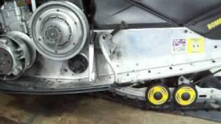 9. 2005 Ski doo Snowmobile with a little leak 4 17 11