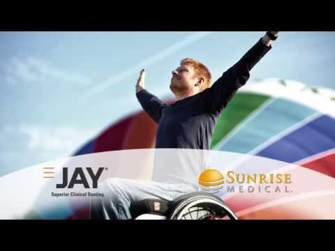 Cuscini antidecubito Jay per la protezione della pelle.