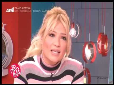 Video - Η Έλενα Ράπτη έγινε νονά!