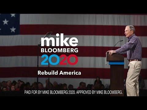Υποψηφιότητα Μάικλ Μπλούμπεργκ για το χρίσμα των Δημοκρατικών το 2020 …