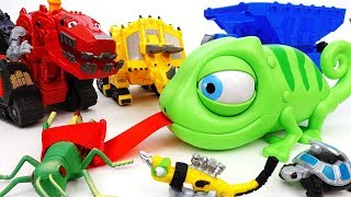 Video An Angry Chameleon Eats Everything~! Go Dinotrux, Let's Stop Him - ToyMart TV MP3, 3GP, MP4, WEBM, AVI, FLV Maret 2018