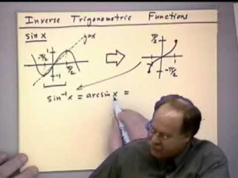 trigonometry - This video covers the following topics (times listed are approximate) Right Triangle Trigonometry [11.5 min.] Trigonometric Graphs [5.5 min.] Handy Trigonome...