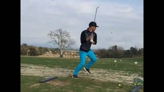 sport lovitura smechera la golf