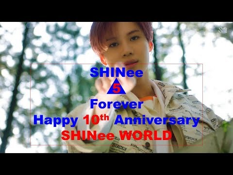 Good evening messages - Happy 10th Anniversary SHINee World