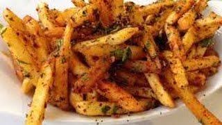 Masala French fries easy recipe. Homemade spicy French fries