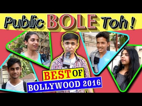 BEST Of BOLLYWOOD 2016 | Public Bole Toh | Salman