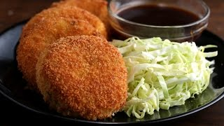 Japanese-Style Ham & Cheese Croquettes (Korokke) by Tasty