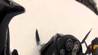 4. Ski Doo Mach Z 1000 Blows Lower Crank Bearing just driving on lake!