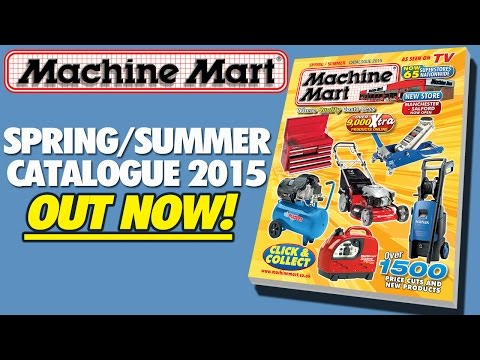 Machine Mart Spring Summer Advert 2015