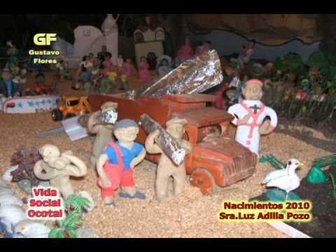 Nacimientos de Navidad. - Nacimientos de Navidad 2010 Vida Social Ocotal No.06.