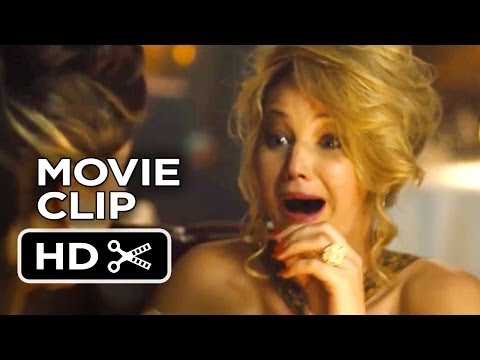 American Hustle Movie CLIP - Dinner (2013) - Jennifer Lawrence Movie HD