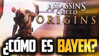 ¡No olvides suscribirte y darle a like si te ha gustado!En este video vamos a DESCUBRIR todos los detalles que se conocen de Bayek, el PROTAGONISTA de Assassin's Creed Origins¡A TOPEEEEEE!Twiiter: https://twitter.com/TheRAFITI69Contacto: therafiti69@gmail.comInfo de Assassin's Creed: http://es.assassinscreed.wikia.com/wiki/AnimuspediaGoogle +: https://plus.google.com/u/0/b/100627411625308379301/100627411625308379301/posts