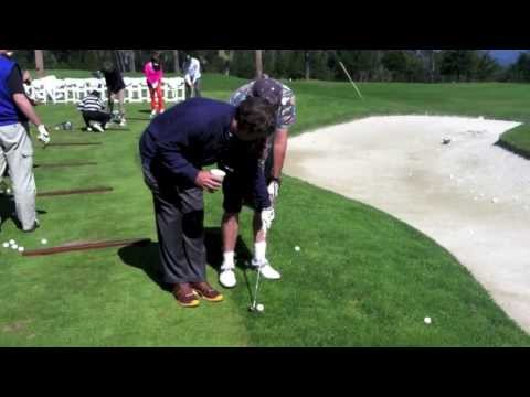 Paul Azinger Gives Dad a Golf Lesson at Spyglass Golf Course