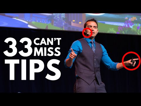 33 Public Speaking Tips to Keep Your Audience from Falling Asleep - SPI TV, Ep. 16