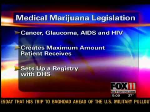 wluk - Medical marijuana bill reintroduced Updated: Thursday, 01 Dec 2011, 11:17 AM CST Published : Wednesday, 30 Nov 2011, 8:38 PM CST Laura Smith, FOX 11 News MAD...
