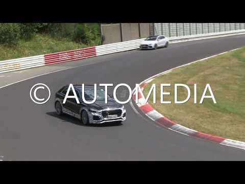 Audi'nin yeni SUV'si RS Q8'i Nürburgring'de yakaladık