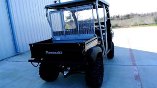 2. Customized 2012 Kawasaki Mule 4010 Trans 4X4 Super Black