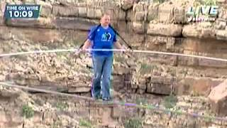 Skywire Live With Nik Wallenda Crosses Grand Canyon FULL VIDEO