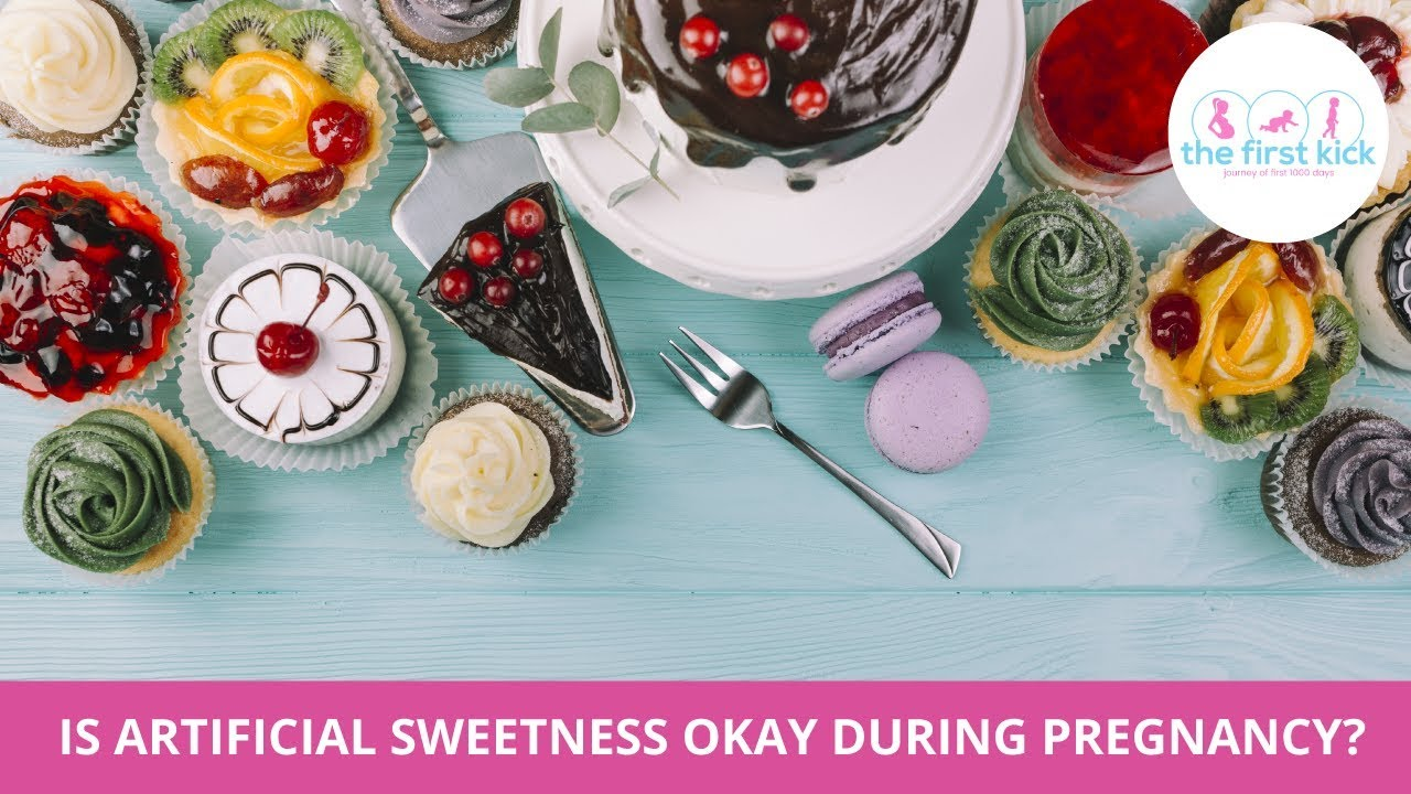 Is artificial sweetness okay during pregnancy?
