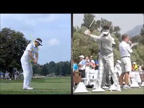Glyn Meredith Golf Academy Dubai analyses the Swing of Ian Poulter using V1 Golf
