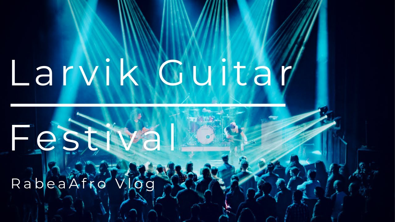 HOW MANY GUITAR LEGENDS CAN YOU FIT IN ONE VIDEO? | Larvik Guitar Festival 2019