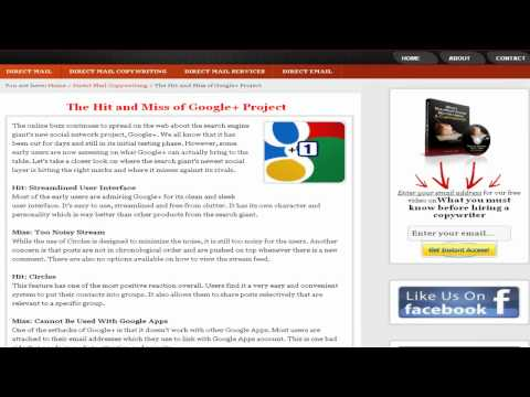 google plus project - http://www.directmaillettersdoneforyou.com - Among our basic human needs is the need to connect with others. Nowadays, more and more of these connections hap...