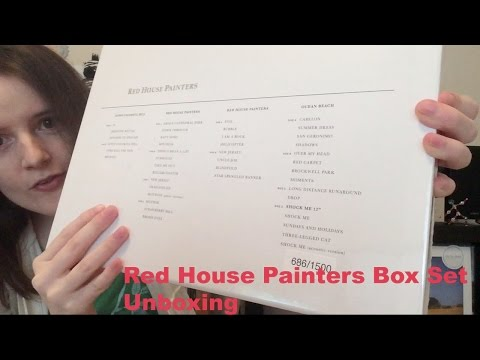 Red House Painters Box Set from 4AD Unboxing