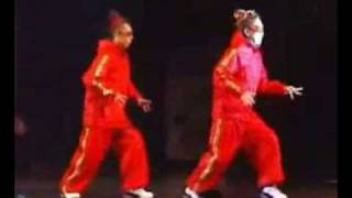 JAPAN DANCE DELIGHT 2005 - 2nd Hamutsun Serve [Popping/Robot Duo]