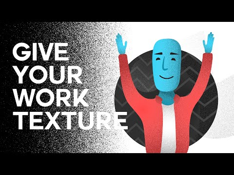 How To Create Texture Gradients - Illustrator Tutorial