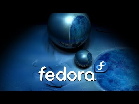 #158 Testing Fedora 27. Ad theme, install  software and such