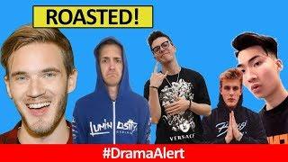 PewDiePie ROASTS Ninja! #DramaAlert HowToBasic FACE REVEAL, FaZe Adapt STING OPERATION, RiceGum